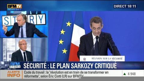 """Plan Sarkozy: """"Nous avons réussi à démontrer la faillite de l'autorité de l'Etat socialiste"""", Éric Ciotti"""