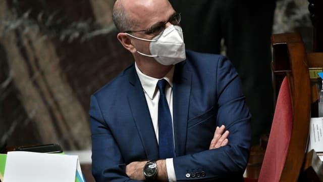 Le ministre de l'Education Jean-Michel Blanquer à l'Assemblée nationale à Paris le 19 janvier 2021