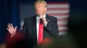 Donald Trump lors d'un meeting à La Crosse, dans le Wisconsin, le 4 avril 2016.