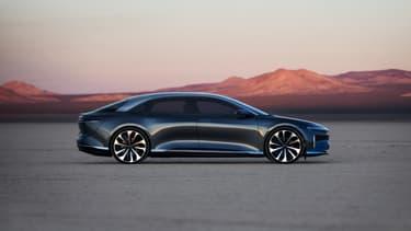 La voiture électrique de Lucid Motors pourrait offrir une autonomie de plus de 800 kilomètres.