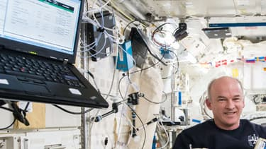 Photo de l'astronaute Jeff Williams, diffusée par la Nasa le 24 août 2016.