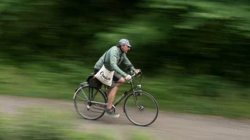 Un cycliste - Image d'illustration