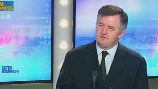 Augustin de Romanet table sur une hausse du trafic aérien entre 2,7 à 3,2% en 2014.