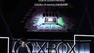 Microsoft a présenté sa Xbox One X.