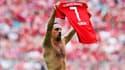 Pour son dernier but en Bundesliga avec le Bayern Munich, Franck Ribéry a remporté le prix du plus beau but de la saison.