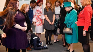 La reine à Londres le 5 décembre 2018