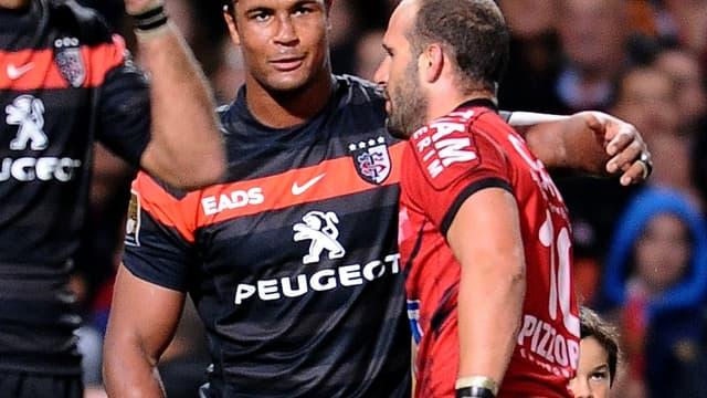 Thierry Dusautoir face à Frédéric Michalak