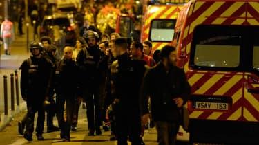 Les attentats de Paris le 13 Novembre 2015.