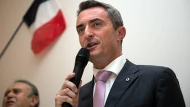 Le sénateur-maire FN Stéphane Ravier. - BERTRAND LANGLOIS / AFP