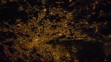 Une vue aérienne de Rome prise depuis l'ISS.