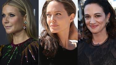 Gwyneth Paltrow, Angelina Jolie et Asia Argento