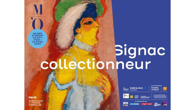 """Affiche de l'exposition """"Signac collectionneur"""""""