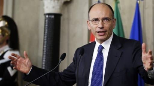 Enrico Letta doit s'exprimer cet après-midi devant le parlement italien.