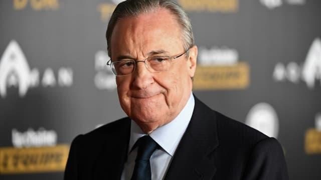 Florentino Perez, le président du Real Madrid, le 3 décembre 2018 à Paris