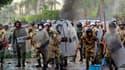 A moins de trois semaines de l'élection présidentielle en Egypte, de nouvelles échauffourées entre des manifestants venus dénoncer les violences du pouvoir et les forces de l'ordre ont coûté la vie vendredi à un militaire et fait 373 blessés aux abords du