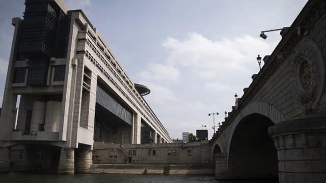 Le ministère de l'Économie et des Finances à Bercy