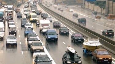 voitures sur l'autoroute