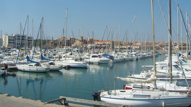 Le port de plaisance de la ville de Narbonne (image d'illustration)