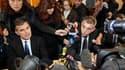 Le procureur de Marseille, Jacques Dallest (à gauche) et son homologue de Lausanne, Pascal Gillieron. Les enquêteurs n'ont encore aucune certitude sur le sort des jumelles suisses disparues depuis leur enlèvement par leur père le 30 janvier, ont-ils dit m