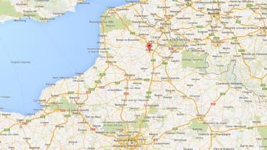 L'individu était écroué à la maison d'arrêt d'Arras pour une affaire de tentative d'homicide au couteau.
