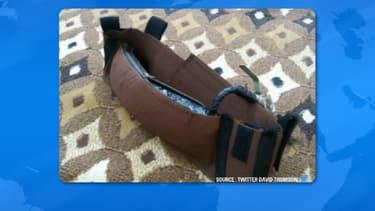 Une ceinture d'explosifs (illustration)