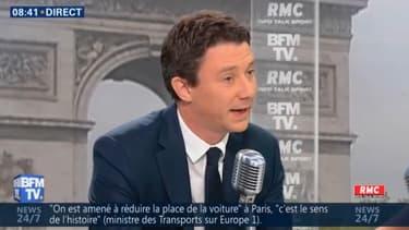 Benjamin Griveaux, a défendu sur BFM TV la pertinence des dépenses budgétaires pour organiser les JO 2024.