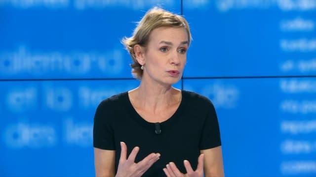 Sandrine Bonnaire sur BFMTV le jeudi 28 novembre