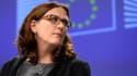 Cecilia Malmström, la commissaire européenne au Commerce.
