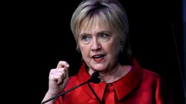 Hillary Clinton le 8 mars 2017 à Washington, lors des  Vital Voices Global Leadership Awards.