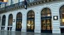 L'Apple Store situé à Opéra, à Paris, le 1er janvier 2013