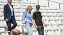 Kyril Louis-Dreyfus au côtés de sa mère Margarita au Stade Vélodrome en 2016