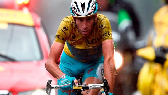 Vincenzo Nibali lors du dernier Tour de France