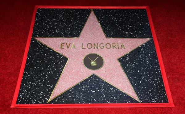 L'étoile d'Eva Longoria sur le Hollywood Walk of Fame