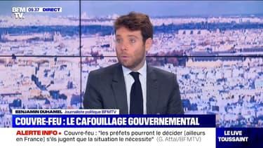 """Couvre-feu à Paris: cette mesure """"n'est pas décidée à ce stade"""", déclare Matignon"""