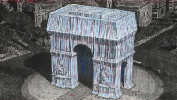 L'Arc de Triomphe emballé