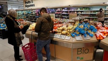 La marge nette du rayon fruits et légumes se situe au-dessus de la moyenne