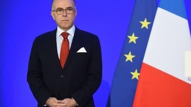 Le ministre de l'Intérieur Bernard Cazeneuve
