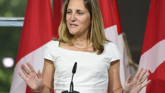 Chrystia Freeland, la chef de la diplomatie canadienne, a laissé entendre qu'un compromis était désormais possible.