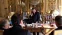 François Hollande, samedi, lors de son entretien téléphonique avec Barack Obama.
