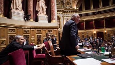 Gérard Larcher au Sénat. (Photo d'illustration)