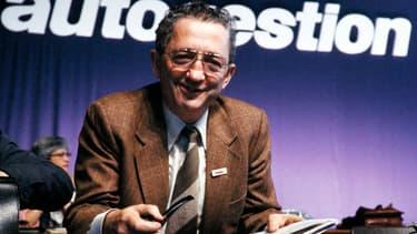 Edmond Maire a été le secrétaire général de la CFDT de 1971 à 1988