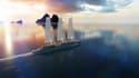 Le concept Silenseas de paquebot à voile à trois-mâts de 190 mètres, conçu pour 300 passagers aura une grande partie de sa propulsion assurée par 1200 mètres carrés de voiles rigides.
