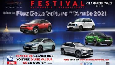 L'élection de la Plus belle voiture de l'année débute ce jeudi 3 décembre.