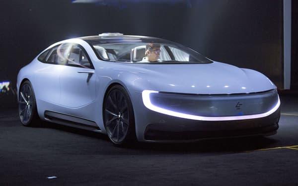 LeEco ambitionne de constituer avec ce modèle une flotte de taxis totalement autonomes et électriques.