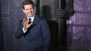 Tom Cruise le 5 juin 2017 à Mexico