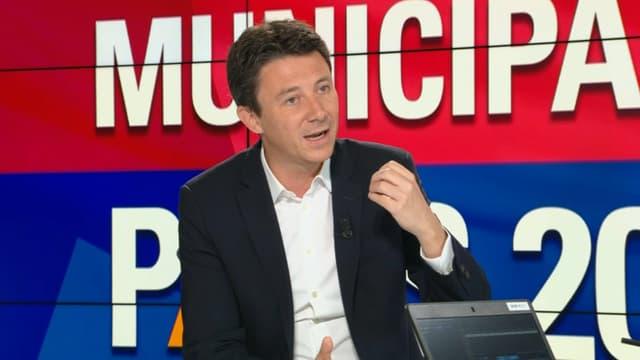 Benjamin Griveaux sur BFM Paris.