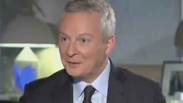 Bruno Le Maire était au micro de BFMTV.