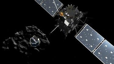 Le robot Philae a voyagé pendant dix ans à bord de la sonde Rosetta avant de se poser sur la comète.