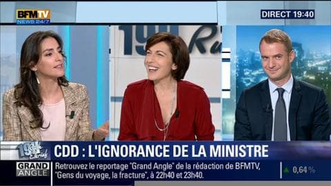 Anna Cabana face à David Revault d'Allonnes: Myriam El Khomri ignore le nombre de renouvellements possibles d'un CDD