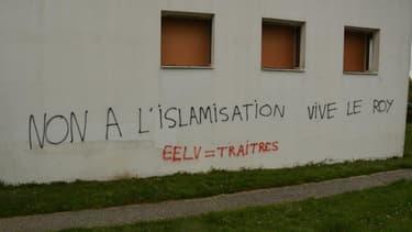 Un centre culturel musulman a été tagué, dimanche 11 avril 2021 à Rennes